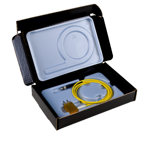 Static Shielding Box For Photonics Device. Permanent Dissipative IPA Cleanable Form Insert FOD Free