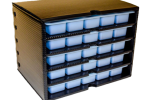 ESD Protective Drawer Cabinet For Component Storage With Permanent Static Dissipative Drawers