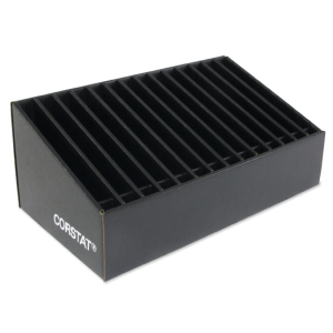 Conductive Corrugated ESD Safe Reel Storage Bin
