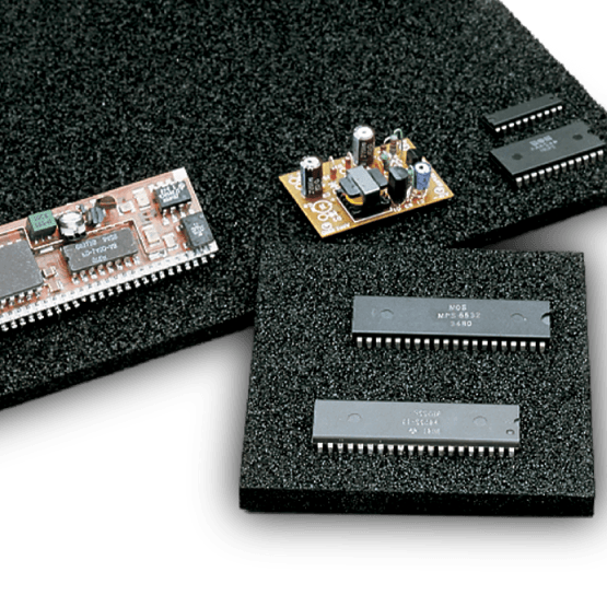 Static Dissipative and ESD Safe Crosslink Foams