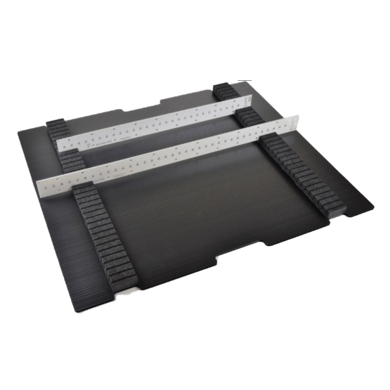 CFP Trays For LED Boards -ESD Safe Reuseable LED Shippers