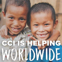 CCI is helping worldwide